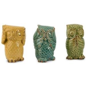 Imax Three Wise Owls See No Evil Hear No Evil Speak No
