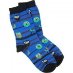 Owl Watch Crew Socks