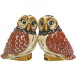 Magnetic Owl Salt and Pepper Shaker Set