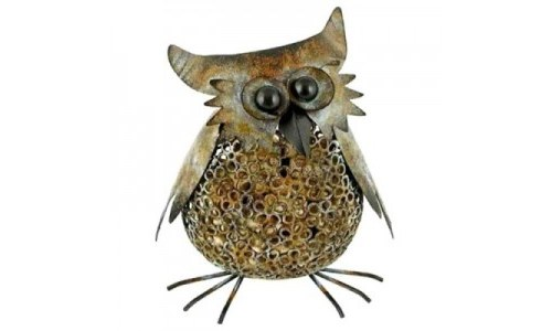 The Rustic Owl Cork Holder Home Decor