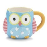 Whimsical Owl Coffee Mug Cup