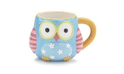 Whimsical Owl Coffee Mug Cup