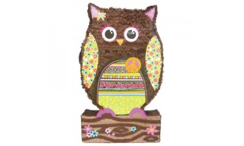 Giant Owl Pinata Party Accessory