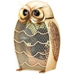 Owl Figurine Fan Home Decor