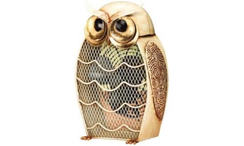 Owl Figurine Fan Home Decor
