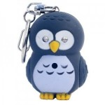 LED Owl Keychain with Sound