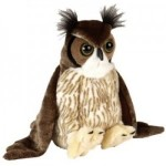 Cuddlekins Great Horned Owl 12
