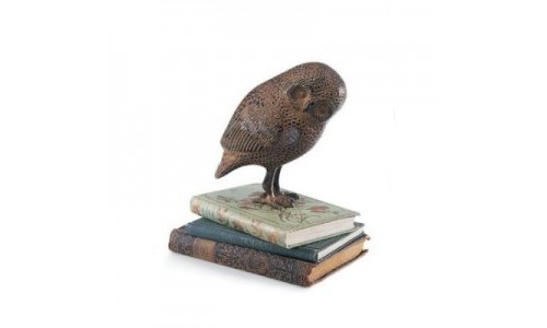 Achla Designs Saw-whet Owl on Books