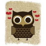Owl Always Love You Owl Art Serigraph