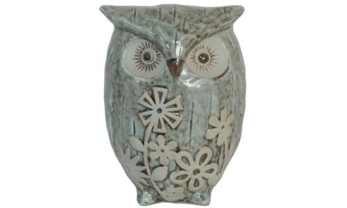 Charming Ceramic Owl Figurine