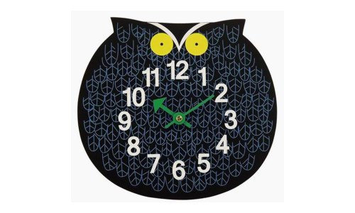 George Nelson Owl Zoo Timer Wall Clock (11 inch)