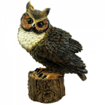 Great Horned Owl Outdoor Statue 80053