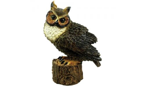 Great Horned Owl Outdoor Statue 80053