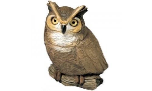 Sandicast Original Size Owl Sculpture Statue