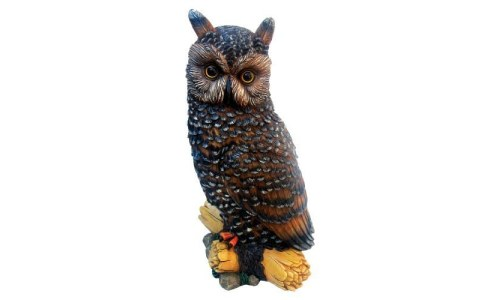 Hocus Pocus the Owl Resin Statue By Micheal Carr