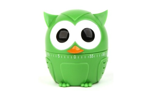Kikkerland Owlet Owl Kitchen Timer