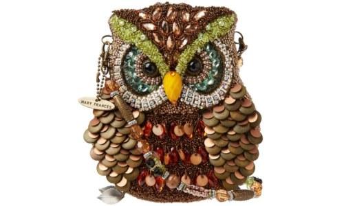 Mary Frances Night Owl Shoulder Bag
