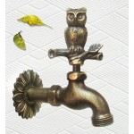 Lovely Solid Brass Owl Faucet