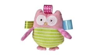 Taggies Oodles Owl Plush Rattle.500