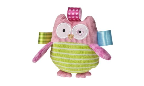 Taggies Oodles Owl Plush Rattle