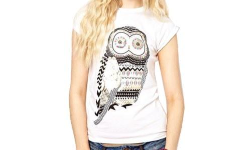 Zehui Owl Shirt Short Sleeve Tee