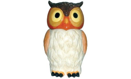 Ceramic Kookie Owl Cookie Jar