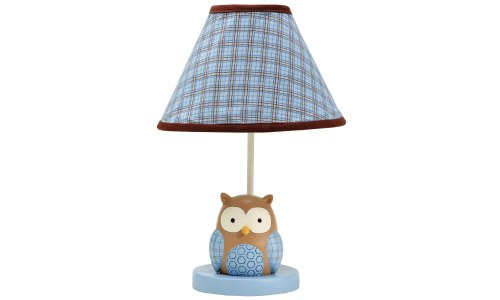 Eddie Bauer Owl Lamp and Shade