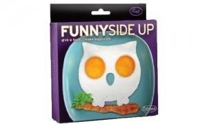 Funny Side Up Owl Egg Mold Novelty Egg Ring.500
