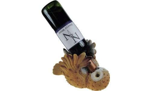 Guzzler Owl Wine Bottle Holder