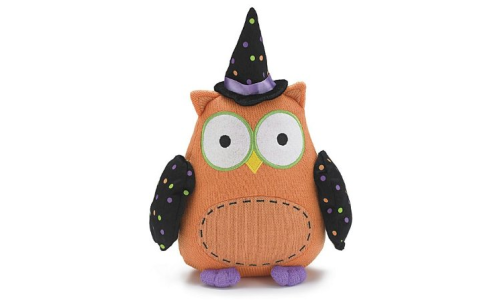 Whooo Goes There 12 Halloween Owl Plush